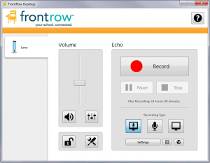 Frontrow  Teacher and Students Login Portal: